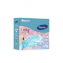 Dignity Lady Light Incontinence Pads, 10 Pads/Pack